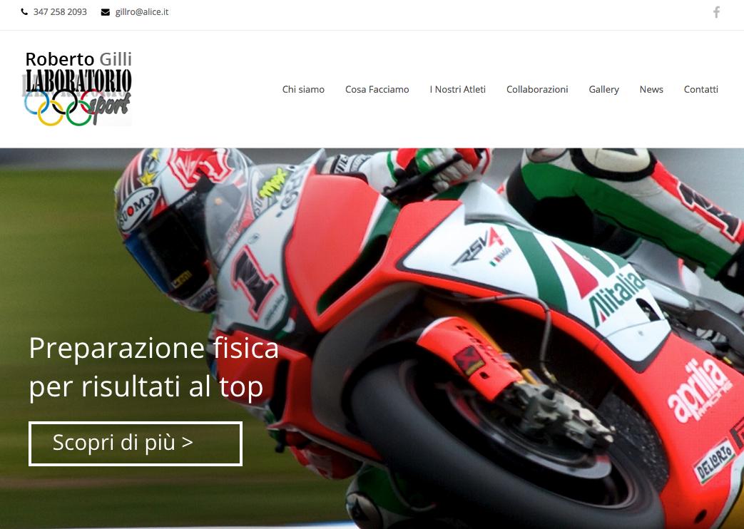 On Line Il Nuovo Sito Di Laboratorio Sport